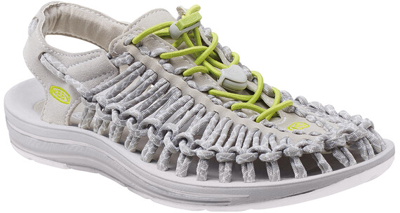 Keen W's Uneek 8mm Rock Shoes Vapor/Chartreus
